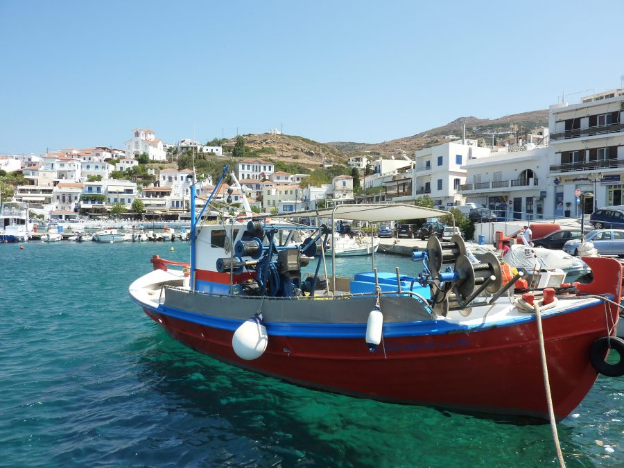 Voile a Andros
