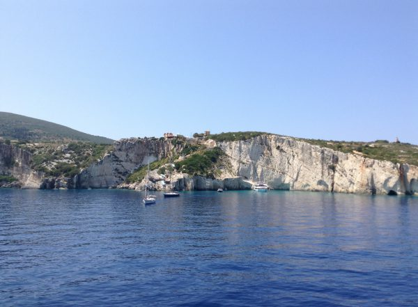 Sail yachts in the Ionian isles