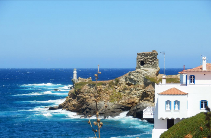 Andros dans les Cyclades